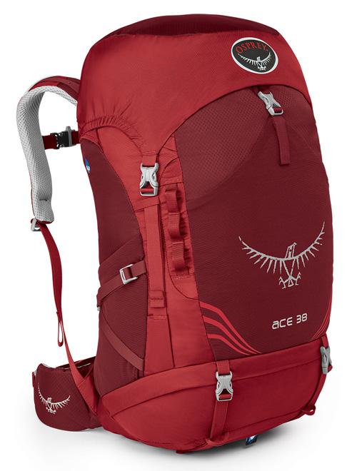 【鄉野情戶外專業】 Osprey |美國|  ACE 38 登山背包—青少年款/旅行背包 健行背包/Ace38 【容量38L】
