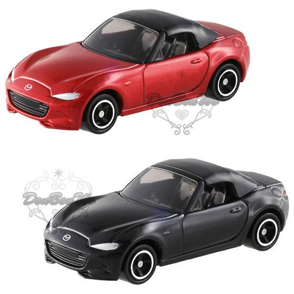 多美TOMY馬自達ROADSTER合金汽車模型1/57紅825012黑825036海渡