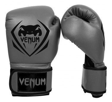 Boxing VENUM 初級拳擊手套禮物版~VENUM訓練用拳套-8oz初級入門訓練拳套-鋼鐵灰