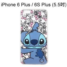 迪士尼空壓透明軟殼 [主題] 史迪奇 iPhone 6 Plus / 6S Plus (5.5吋)【Disney正版授權】
