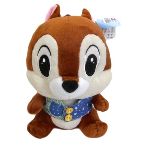 【真愛日本】150904000237吋吊坐娃-襯衫奇奇  迪士尼 花栗鼠 奇奇蒂蒂 松鼠   娃娃  擺飾  家飾