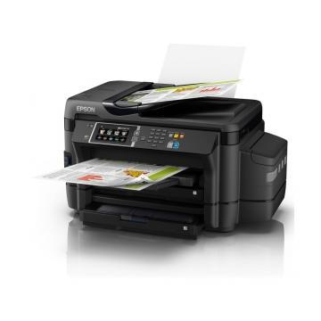 EPSON L1455 高速網路Wi-Fi A3+連供傳真影印機(列印/影印/掃描/傳真/4.3吋螢幕/網路/Wi-Fi/插卡/ADF/雙面列印、複印、掃描、傳真)連續供墨印表機 Wi-Fi 影印機 Wi-Fi傳真影印機 A3傳真影印機 A3連供傳真影印機