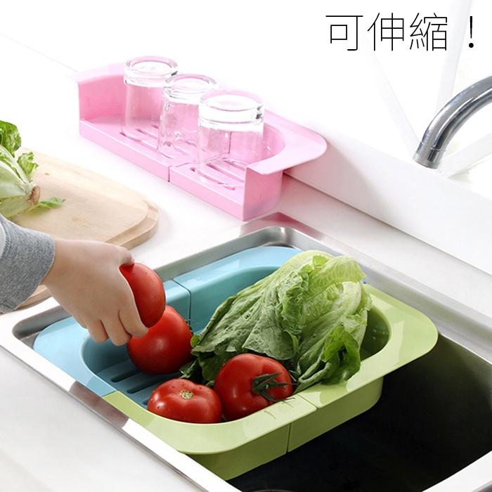 瀝水籃 瀝水架 廚房收納 碗盤架【YV4472】快樂生活網