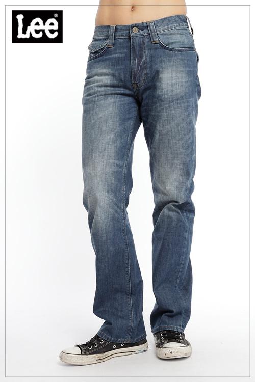 【Super Sales 褲款下殺↘2.5折】LEE Joe 727 標準直筒牛仔褲