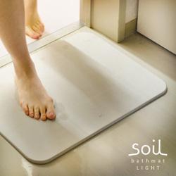 『日本代購品』 日本soil 珪藻土乾爽地墊(浴墊 踏墊) 超吸水 超速乾 日本製