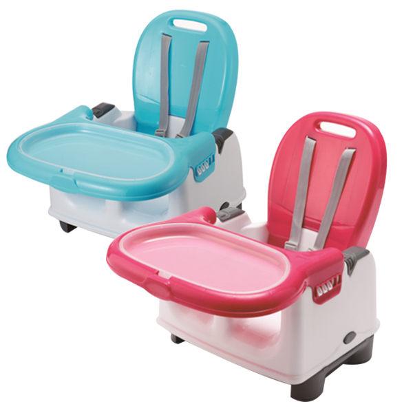 ★衛立兒生活館★奇哥 攜帶式寶寶餐椅 (藍/粉)
