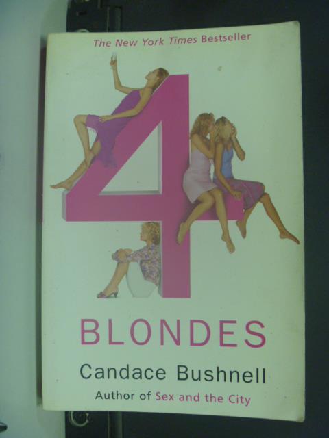 【書寶二手書T1/原文小說_JGZ】Four Blondes_BUSHNELL