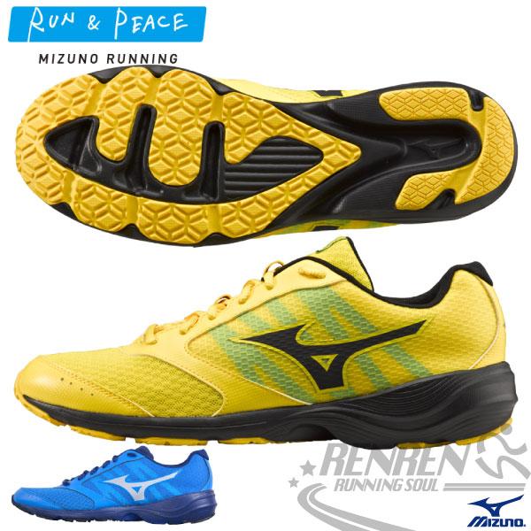 MIZUNO 美津濃PRIMA VIVO 2 男慢跑鞋(黃) 慢跑健走適用 2015年新款