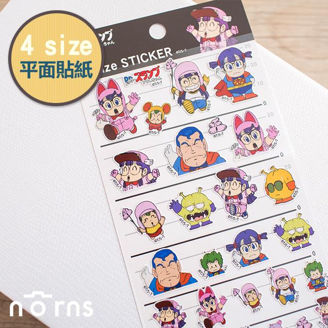 NORNS 【日貨4size貼紙阿拉蕾】機器娃娃 丁小雨 手帳 行事曆 拍立得照片 裝飾貼紙