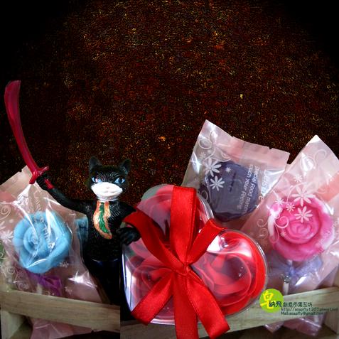 自然/創意/手作皂 ~玫瑰花。好棒棒洗手皂~ 台灣品牌/皂納飛