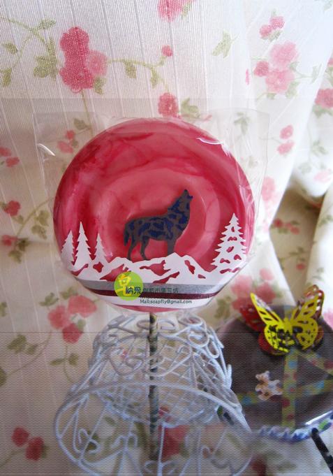 自然/創意/手作皂 ~狼叫棒棒糖洗手皂~ 台灣品牌/皂納飛