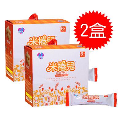 【悅兒樂婦幼用品舘】米捲兒 100%天然純米餅 (單盒20入)-2盒