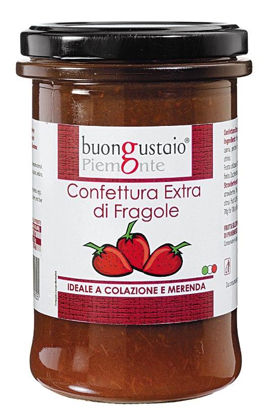 [義大利美食家Italian Gourmet]手工精緻草莓醬團購第一名義大利原裝進口 每罐330g
