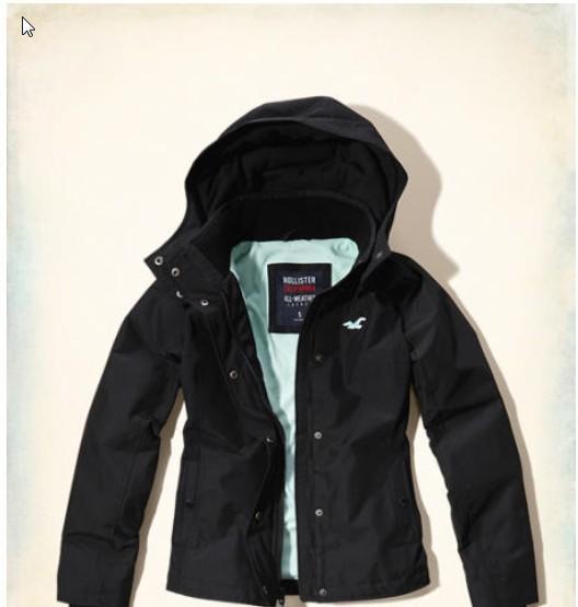 女Hollister保暖外套