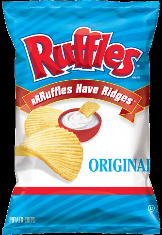 美國進口 Ruffles 厚切波樂洋芋片-經典原味184.2g