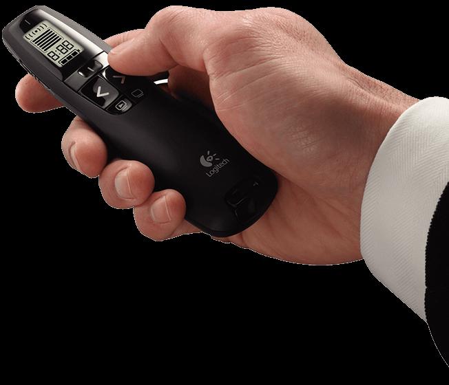【迪特軍3C】羅技專業無線簡報器R800 / 羅技 R800 專業簡報器 30公尺接收距離/隨插即用/LCD螢幕