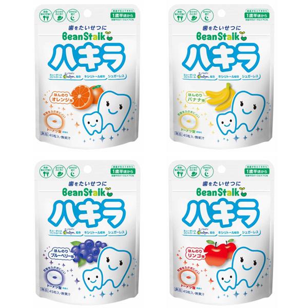 日本 雪印 BeanStalk 1歲半起嬰兒潔牙糖