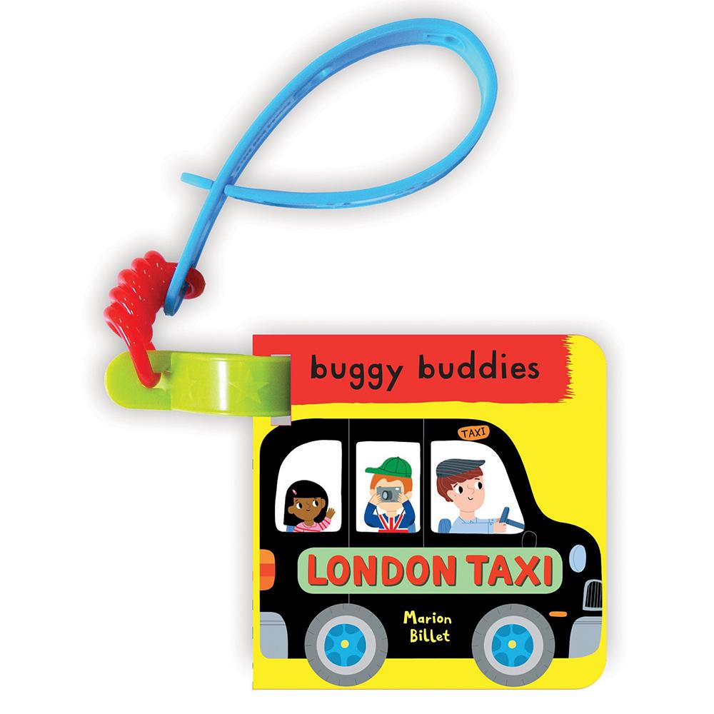 My First London Taxi Buggy Buddy 倫敦計程車之旅 硬頁吊掛書