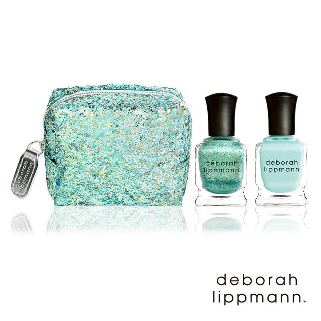deborah lippmann奢華精品指甲油_海之女神化妝包組CALYPSO