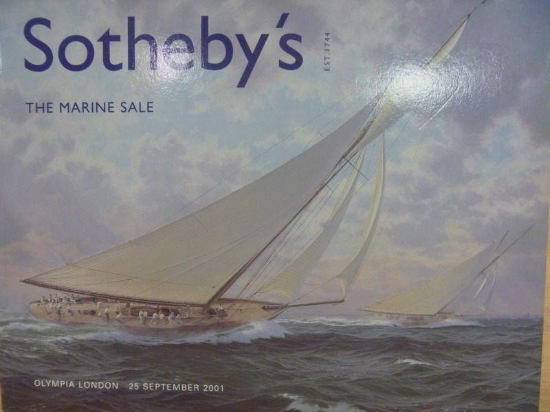 【書寶二手書T7/收藏_PAX】Sothebys_2001/9/25_The Marine Sale