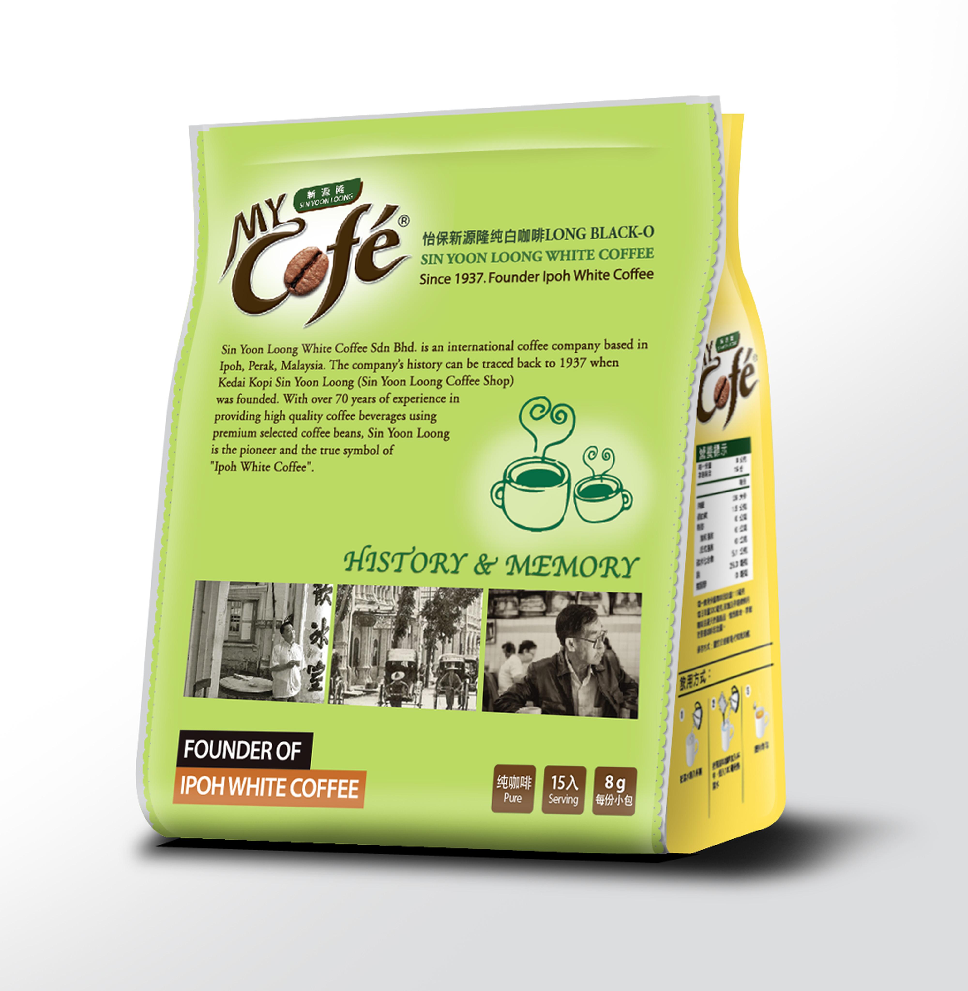 【新源隆】怡保純白咖啡(8gX15包/袋)●即期品●
