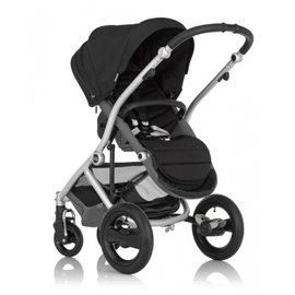 【淘氣寶寶】英國Britax-Affinity 4輪限量版單人手推車-現貨*黑色+扶手把 (公司貨) 【保證原廠公司貨】