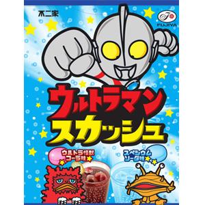 *即期促銷價*日本不二家 鹹蛋超人協作包裝 汽水糖 [JP442]