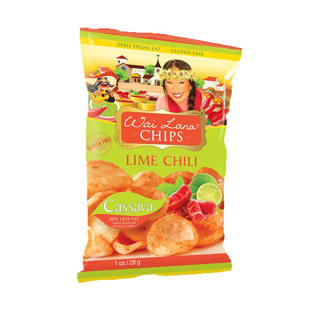 印尼進口 Wai Lana 蕙蘭農莊-檸檬辣椒木薯片28g