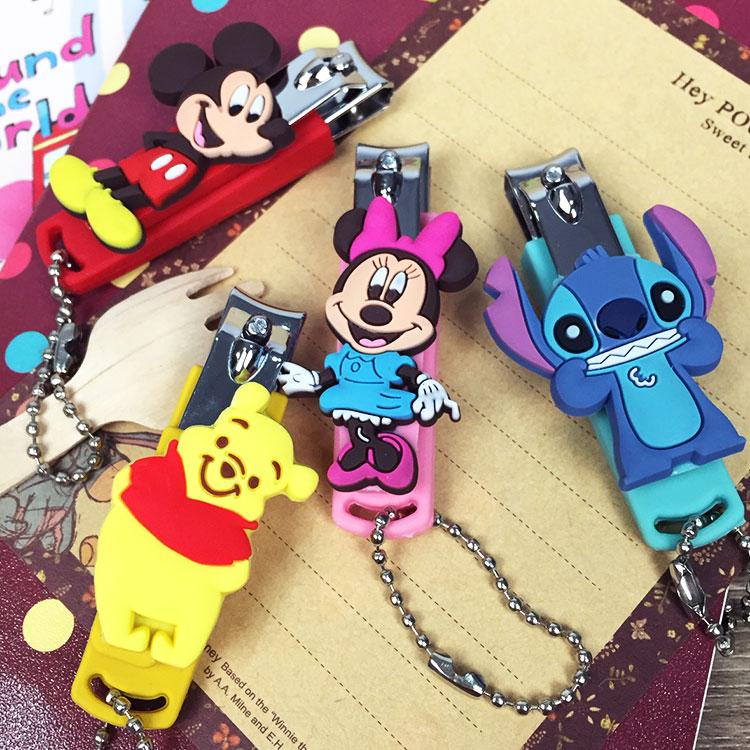 PGS7 迪士尼系列商品 - 迪士尼 系列 立體 造型 隨身 指甲剪 指甲刀 米奇 米妮 維尼 史迪奇