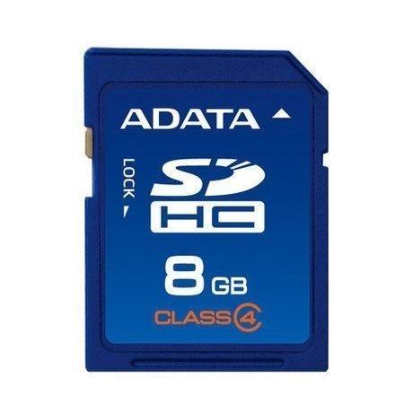 *╯新風尚潮流╭*威剛記憶卡 8G 8GB SDHC Class 4 C4 ASDH8GCL4-R
