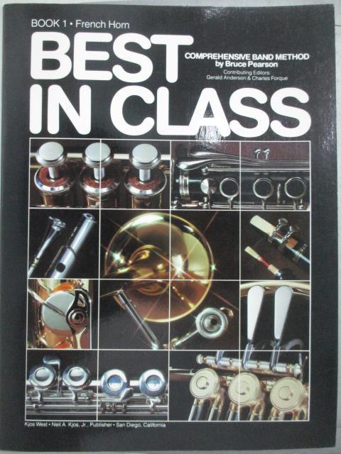 【書寶二手書T1/音樂_QIN】Best in Class_book1.French Horn_Bruce Pearson