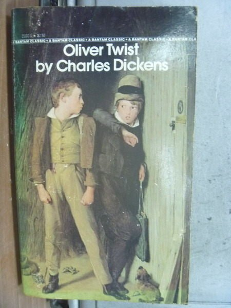 【書寶二手書T5/原文小說_MQP】Oliver Twist_Charles Dickens