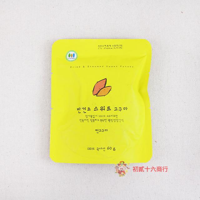 【0216零食會社】韓國_香甜地瓜條60g