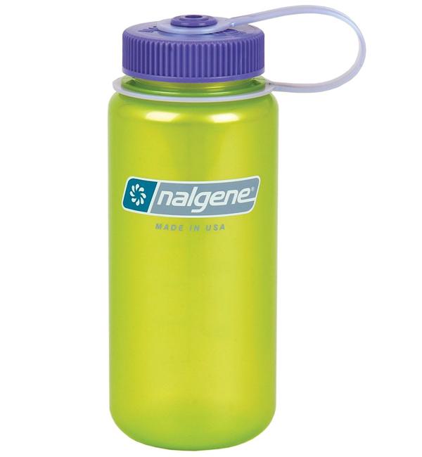 【鄉野情戶外專業】Nalgene  美國   寬口水壺《萊姆綠》/運動水壺 水瓶 隨身水壺/2178-1716 【容量500ml】