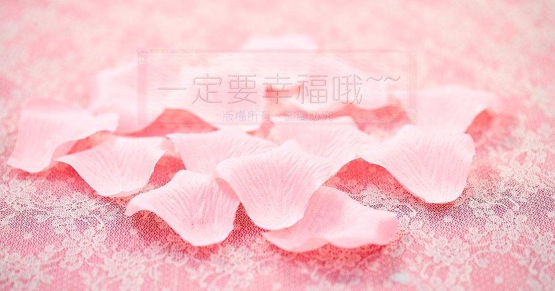 一定要幸福哦~~玫瑰花瓣(粉橘)~~(1包有144片~)佈置、婚禮小物、二次進場