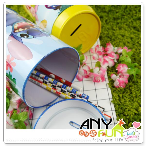 任你逛☆正版 迪士尼可樂罐存錢筒 造型存錢筒 筆筒 收納筒 可樂罐子 生日 禮物 anyfun【D2107】
