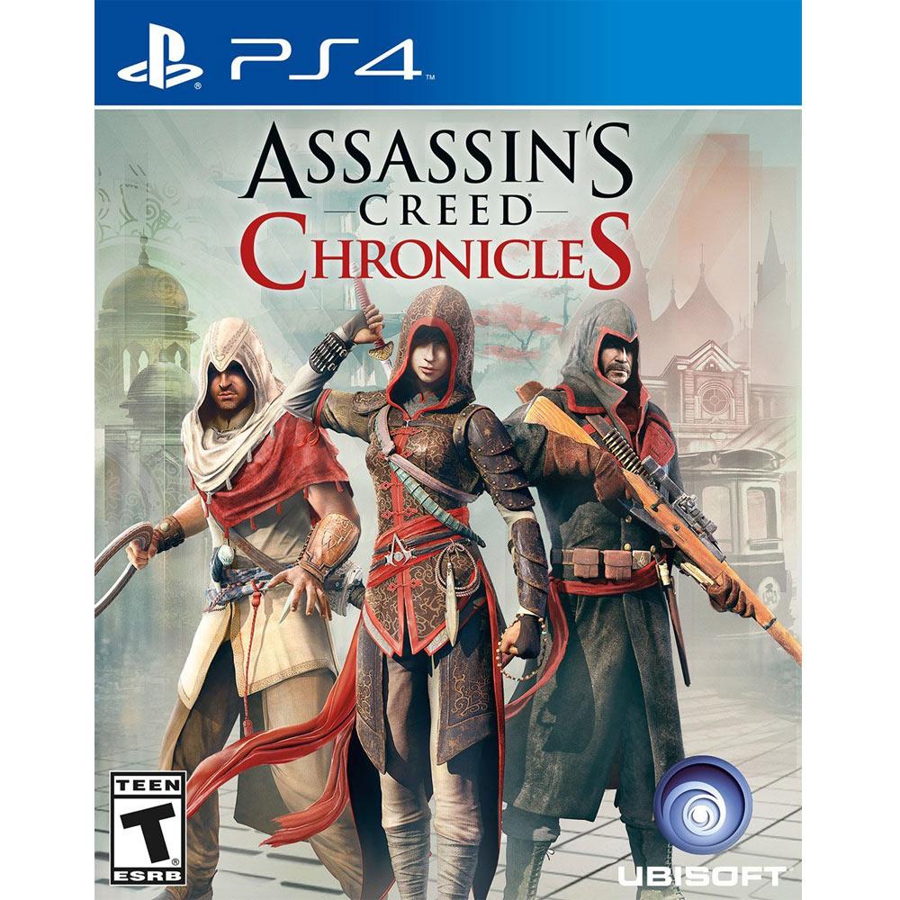 (全新已拆)PS4 刺客教條:編年史三部曲 英文美版 Assassin's Creed Chronicles