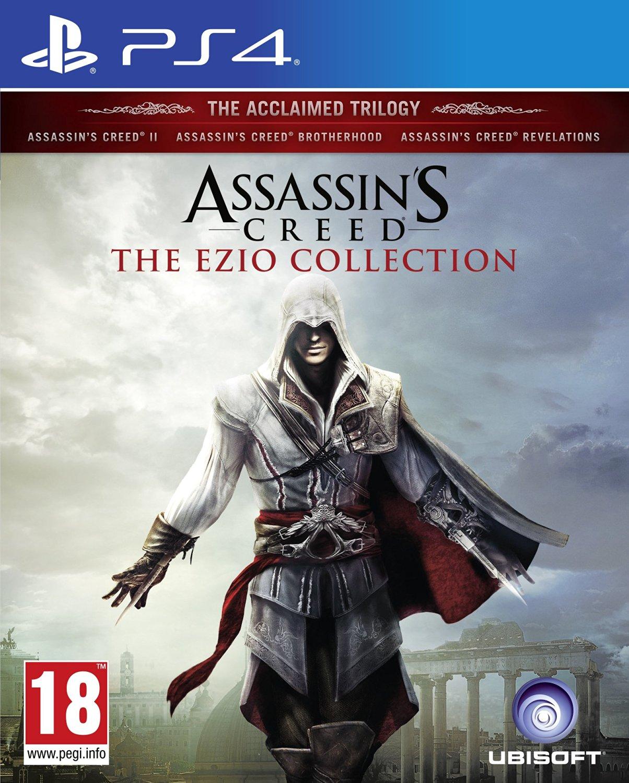 PS4 刺客教條:埃齊歐合輯(三合一 二代+兄弟會+啟示錄) 中文亞版 EZIO Collection Trilogy