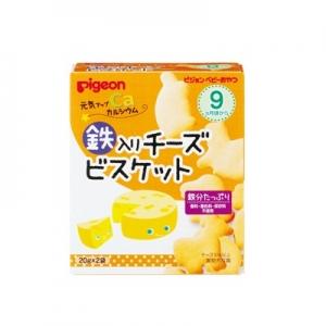 日本【貝親Pigeon】元氣起司餅乾 (9個月以上)