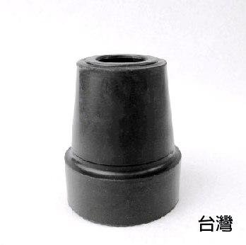 橡膠腳套 腳墊 - [865] 孔徑1.45cm 高4.6cm 黑色 2個入 一般單手拐杖使用 老人用品 銀髮族