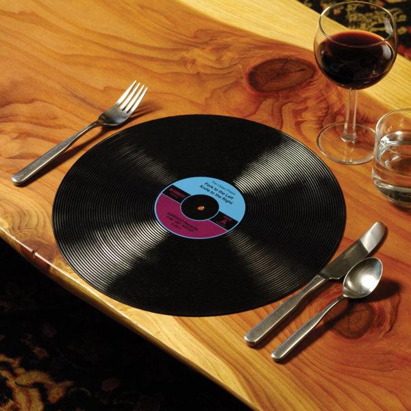 復刻黑膠唱片餐墊 (2入/組)