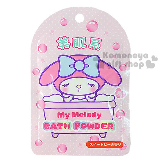 〔小禮堂〕美樂蒂 日製入浴劑《粉.泡澡.點點.美肌系》香碗豆花香味