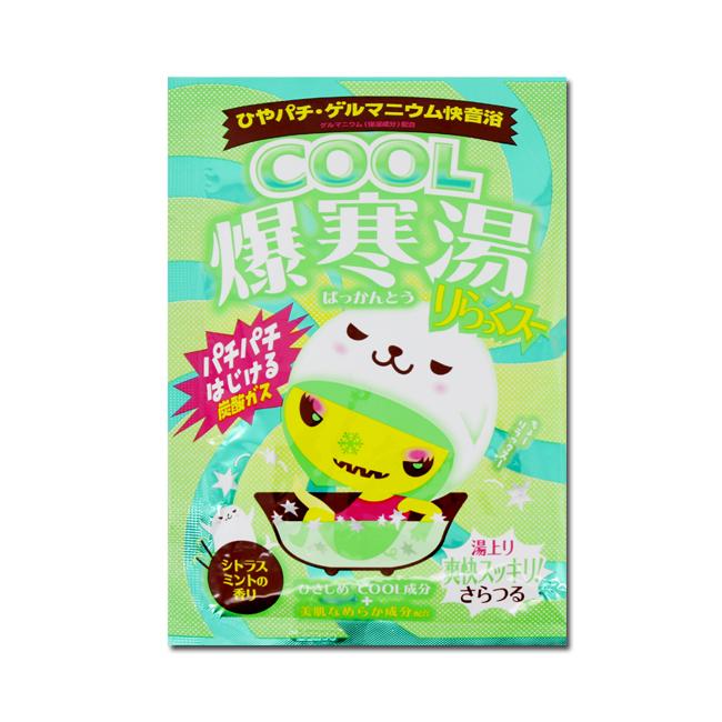 BISON佰松 爆寒湯美肌入浴劑-柑橘薄荷 60g(效期至17.08)