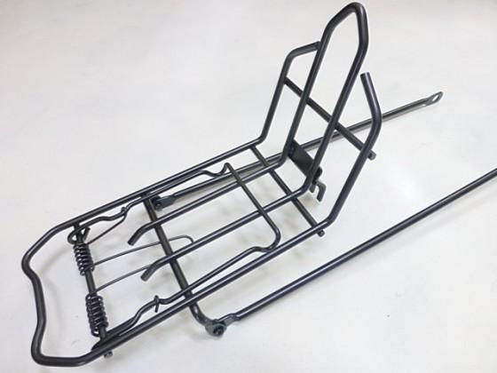 鐵製 長腳 有夾款前貨架 26吋及 27吋車共用《意生自行車》