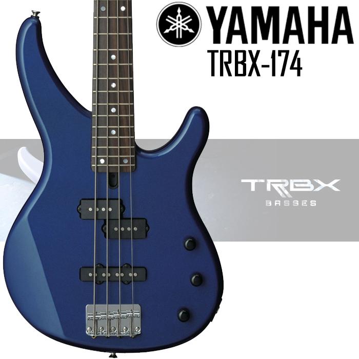 【非凡樂器】YAMAHA TRBX174 BASS 電貝斯套組【含背帶,導線,保養組,調音器】藍色全新上市