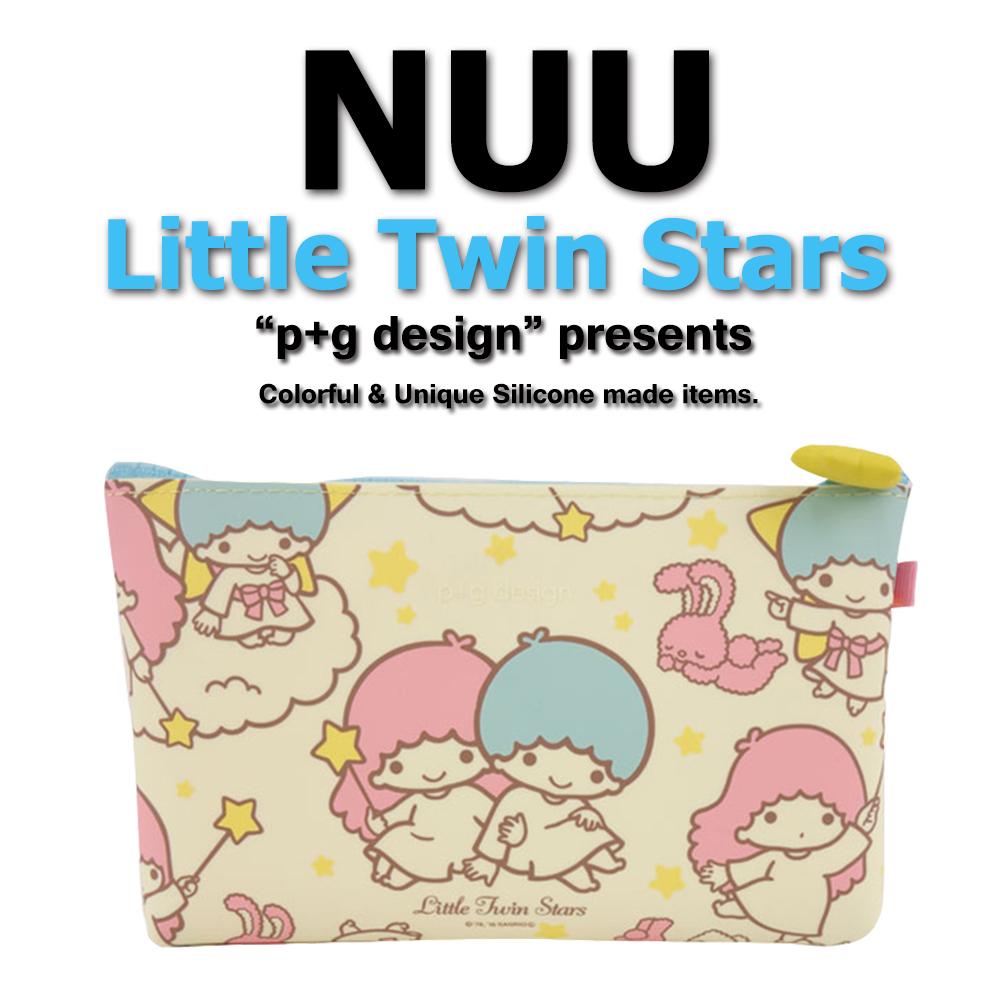 日本空運進口 p+g design NUU X Little Twin Star 2016 繽紛矽膠拉鍊零錢包