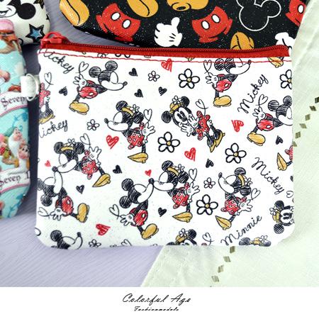 票卡夾 正版迪士尼Disney系列 米奇 史迪奇 維尼 愛麗絲 小矮人 柒彩年代【NS17】單個