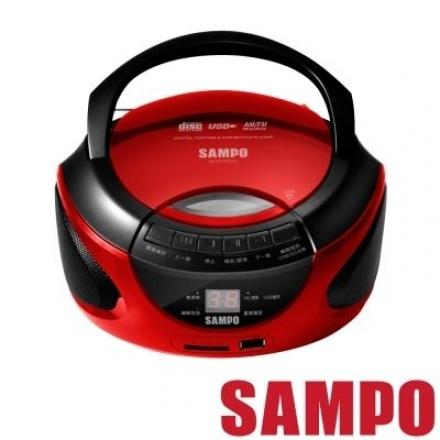 【SAMPO 聲寶】 AK-W1402UL 手提USB/CD/SD音響
