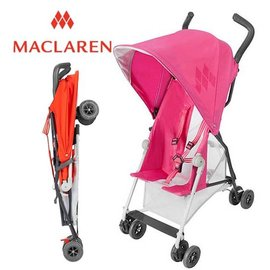 *babygo*輕量上市 Maclaren Mark II 嬰兒手推車【粉色】