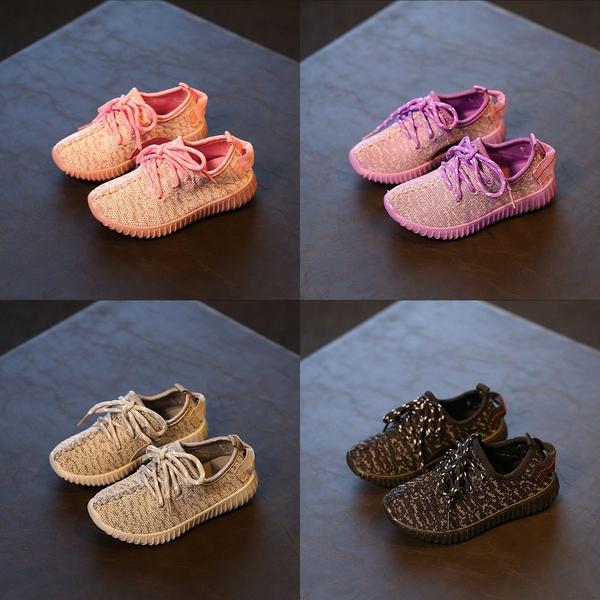 針織布寶寶鞋 休閒學步鞋/中童鞋 板鞋 運動鞋(15.5-18公分) KL12322